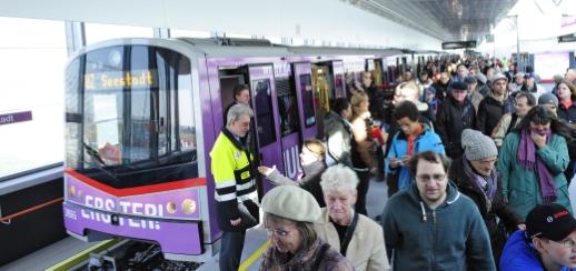 U2 Verlängerung bis Seestadt - Eröffnung