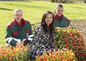 1,25 Millionen Frühlingsblumen für Wiens Parks und Gärten!