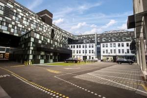 Der Wirtschaftspark Breitensee ist Sitz von Medienbetrieben, Kreativunternehmen und Firmen aus Technologie und Produktion.