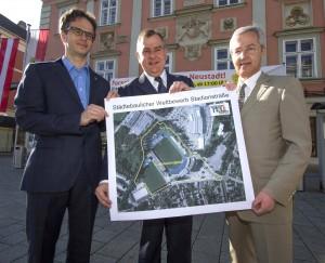 Städtebaulicher Wettbewerb Stadion-Areal Bewerberauswahl